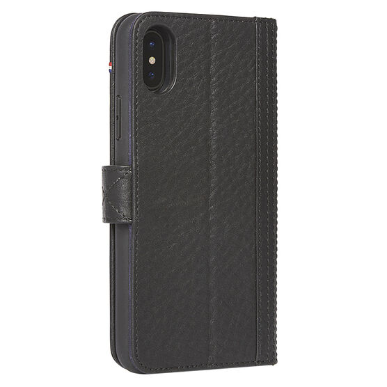 Decoded Leather Wallet Case for iPhone X - Black - DCD7IPOXWC5BK