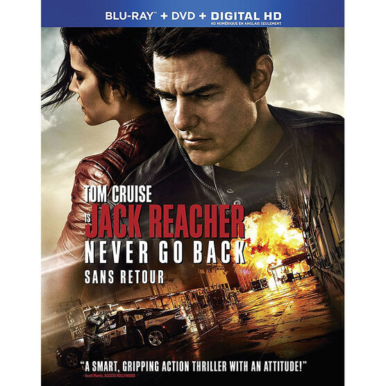 Jack Reacher: Never Go Back - Blu-ray