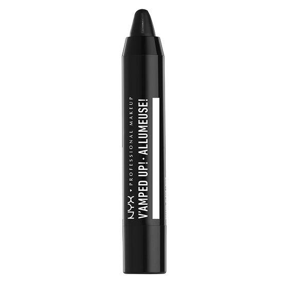 NYX Professional Makeup V'amped Up! Lip Top Coat - Black