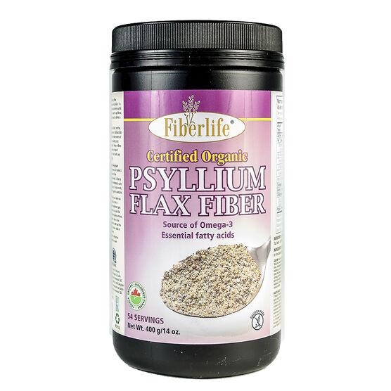 Fiberlife Psyllium Fiber - Flax - 400g