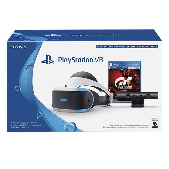 Sony PlayStation VR Gran Turismo Sport Bundle