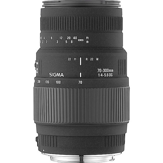 Sigma 70-300mm f/4.0-5.6 DG Macro Lens - Canon Mount