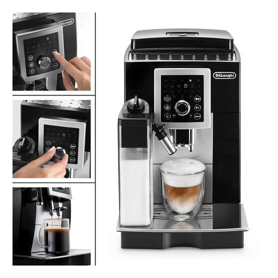 Delonghi Magnifica Smart Espresso Maker - Black/Silver - ECAM23260S