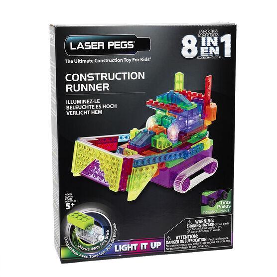 Laser Pegs Construction Runner