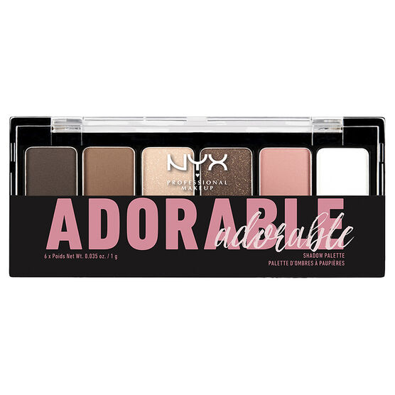 NYX Professional Makeup The Adorable Shadow Palette