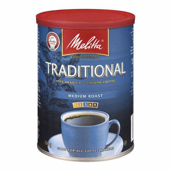 Melitta Roast & Ground Coffee - Traditional Extra Fine - 300g