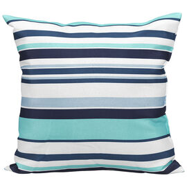 Table Trends Outdoor Reversible Cushion - Aqua - 18 x 18in