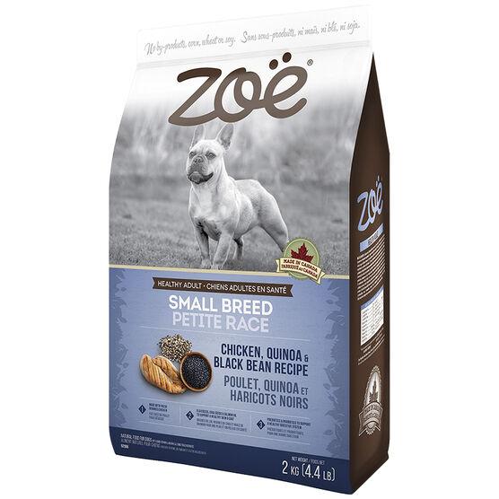 Zoe Dog Food - Chicken, Quinoa and Black Bean - 2kg