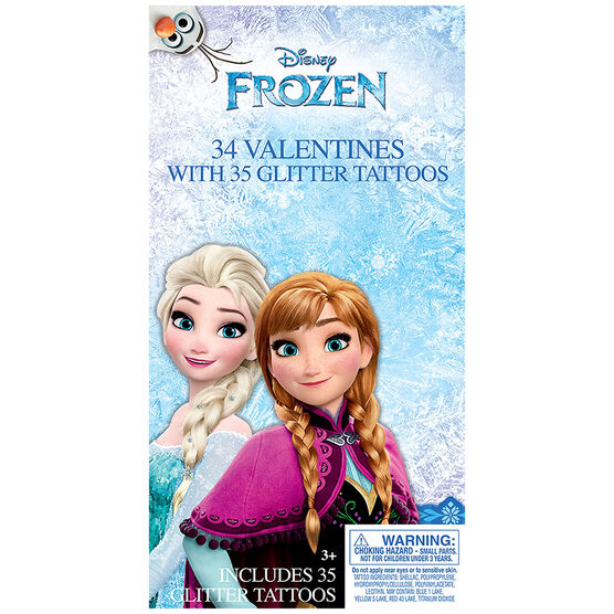 Frozen Valentines with Temporary Tattoos - 34s - 4152975