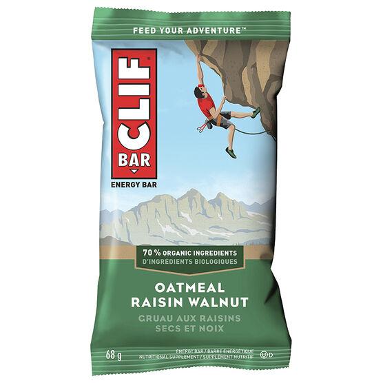 Clif Bar - Oatmeal Raisin Walnut - 68g