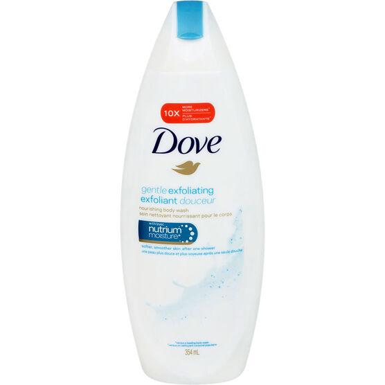 Dove Gentle Exfoliating Body Wash - 354ml