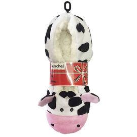 Kuschel Animal Slippers - Cow - Small/Medium