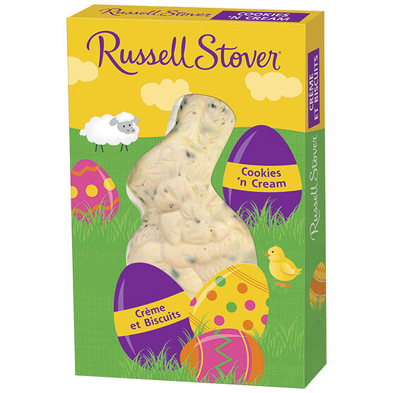 Russell Stover Rabbit - Cookies and Cream - 37g