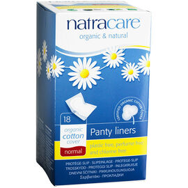 Natracare Panty Liners - Normal - 18's