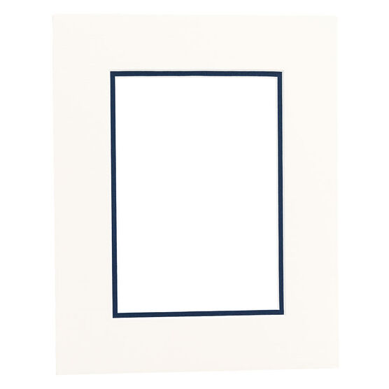 Tempo 8x10 Mat Frame - Chantilly/Mid-Blue