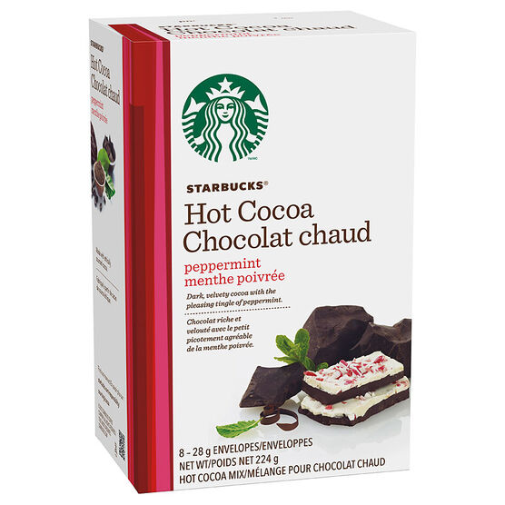 Starbucks Hot Cocoa - Peppermint - 8 servings