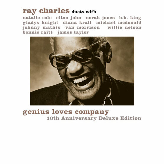Ray Charles - Genius Loves Company - CD + DVD