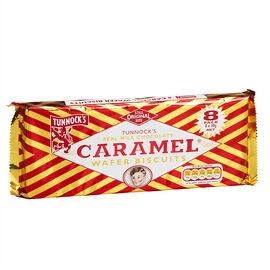 Tunnocks Wafers - Caramel - 8 pack