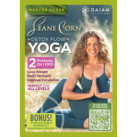Gaiam - Leane Corn Detox Flow Yoga - DVD