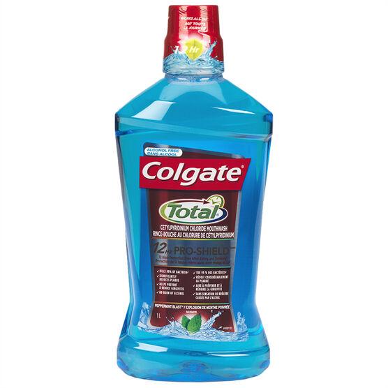 Colgate Total Mouthwash - Peppermint Blast - 1L