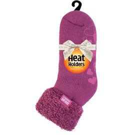 Heat Holders Ladies Lounge Socks - Pink