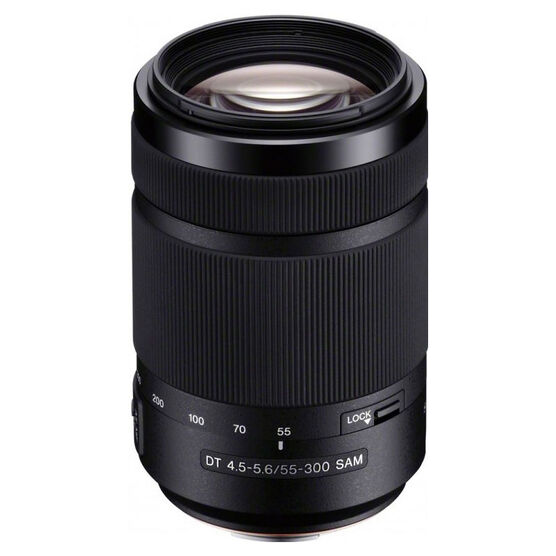 Sony DT 55-300mm f/4.5-5.6 Zoom Lens - SAL55300