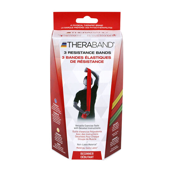 Theraband Resistance Bands Beginner - 3's