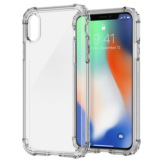 Spigen Crystal Shell for iPhone X - Clear - SGP057CS22141
