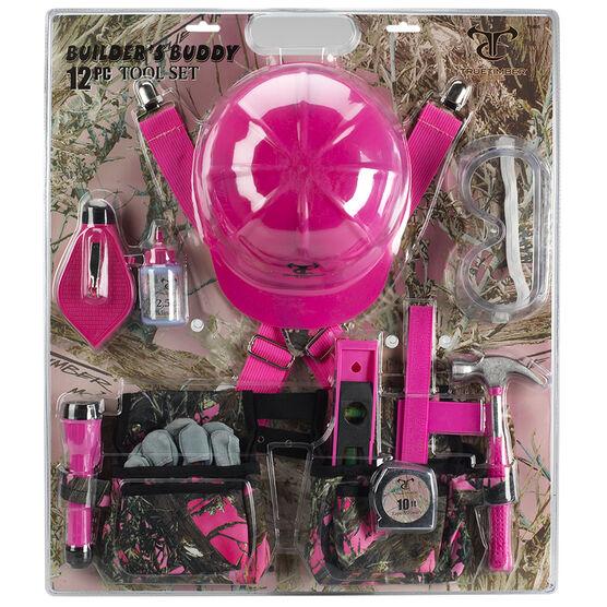 Builder's Buddy 12 Piece Tool Set - Pink