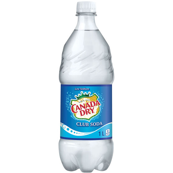 Canada Dry Soda Water - 1L