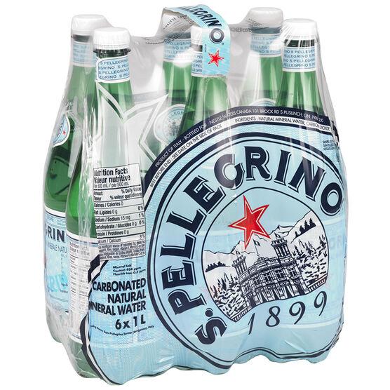 San Pellegrino Water Case - 6 x 1L