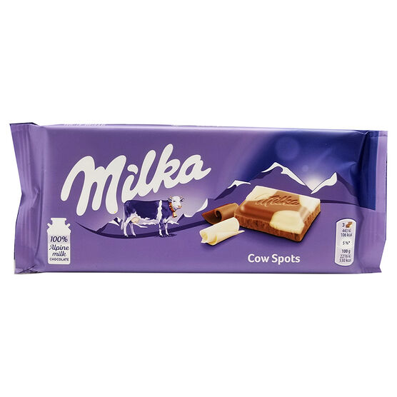 Milka Happy Cow Chocolate Bar - 100g