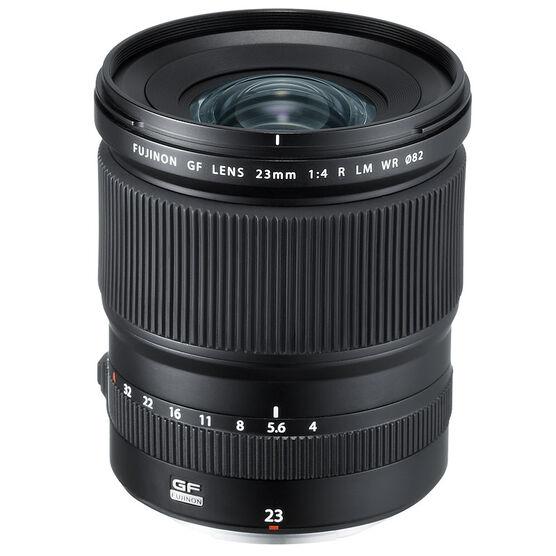 Fujifilm GF 23mm F4 R LM WR Lens - Black - 600018615