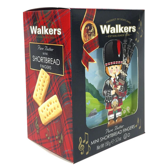 Walkers Mini Fingers Piper Biscuits - 150g