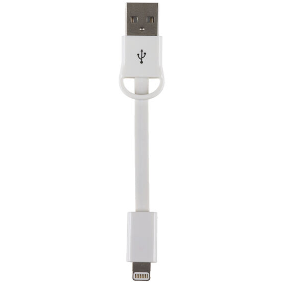 RCA Keychain Lightning Cable - White - AHK750WHF