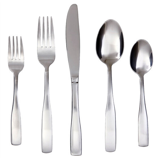Cambridge Madison Satin Cutlery - 45 pieces