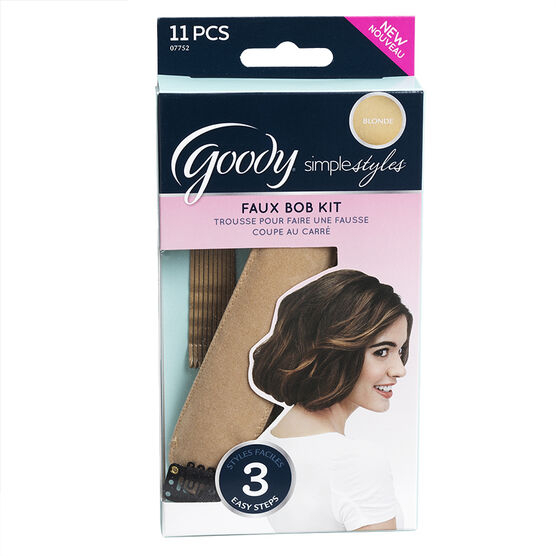 Goody Simple Styles Faux Bob Kit - 11's