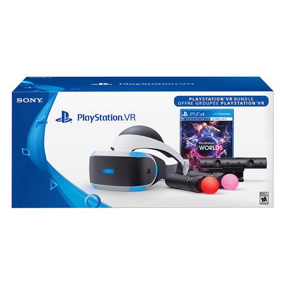 PlayStation VR - VR Worlds Bundle