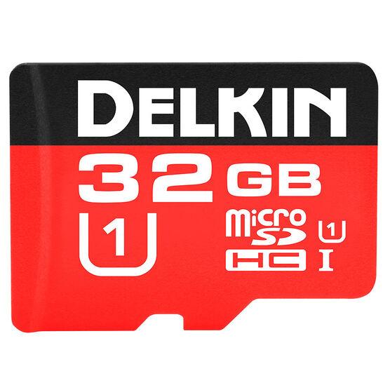 Delkin 32GB microSDHC 500X Memory Card - DDMSD50032GB