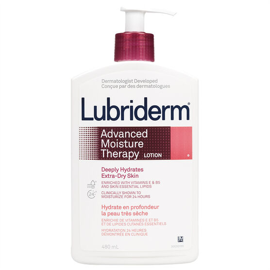 Lubriderm Advanced Moisture Therapy Lotion - 480ml