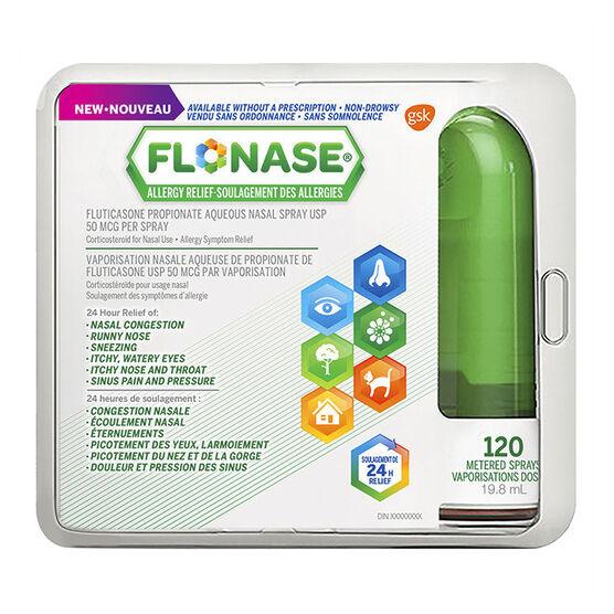 FLONASE Allergy Relief Spray - 120 Sprays