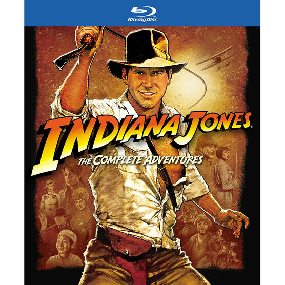 Indiana Jones The Complete Adventures - Blu-ray