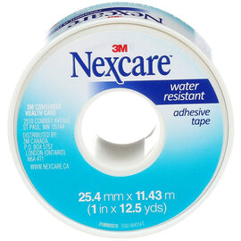 3M Nexcare Water Resistant Adhesive Tape - 25.4mm x 11.43m