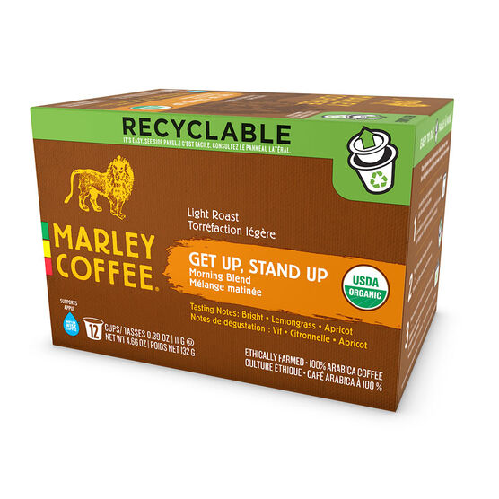 Marley's Single Serve Pods - Get Up, Stand Up - 12 pack