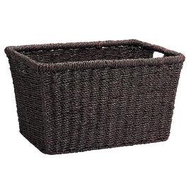 London Drugs Seagrass Basket - Dark Brown