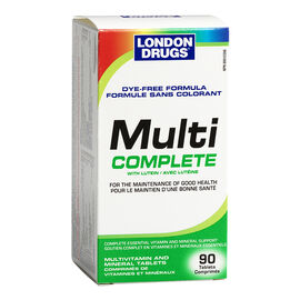 London Drugs Multi Complete Multivitamin and Minerals - 90's