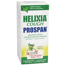 Helixia Cough Prospan Syrup - Children's - 200ml