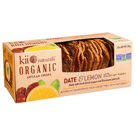 Kii Organic Crisps - Date and Lemon - 150g