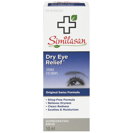 Similasan Dry Eye Relief Eye Drops - 10ml