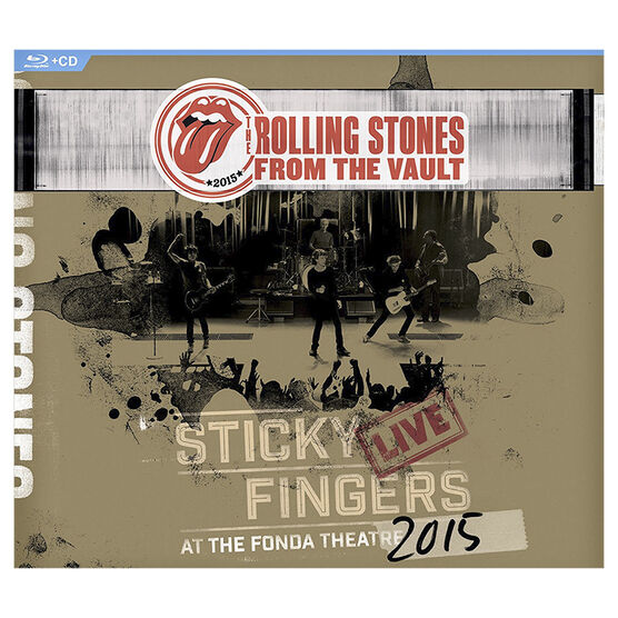 The Rolling Stones: Sticky Fingers Live at the Fonda Theatre 2015 - Blu-ray + CD